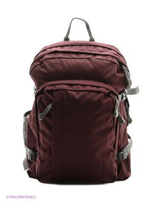 Рюкзак BERKELEY Jack Wolfskin. Цвет: бордовый