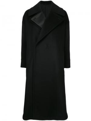 Double lapel long coat The Reracs. Цвет: чёрный