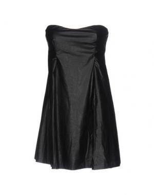 Короткое платье NÖE. Цвет: черный