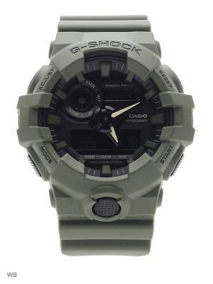 Часы G-Shock GA-700UC-3A CASIO. Цвет: хаки
