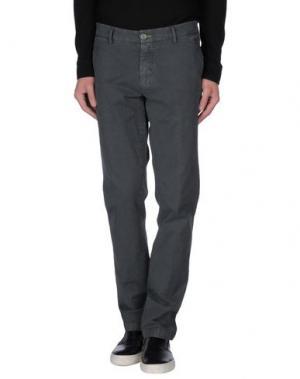 Повседневные брюки BARBATI. Цвет: свинцово-серый