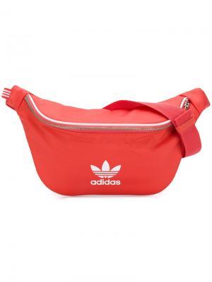 Поясная сумка Adidas. Цвет: жёлтый и оранжевый
