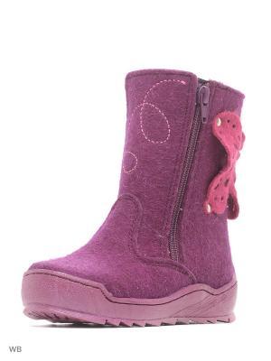 Валенки ФОМА. Цвет: фиолетовый