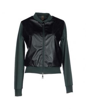 Куртка JIJIL. Цвет: темно-зеленый