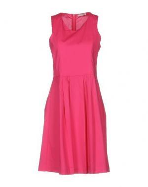 Короткое платье HOPE COLLECTION. Цвет: фуксия