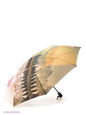 Зонт RAINDROPS. Цвет: бежевый, желтый