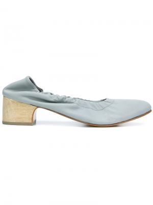 Туфли с заостренным носком Rachel Comey. Цвет: синий