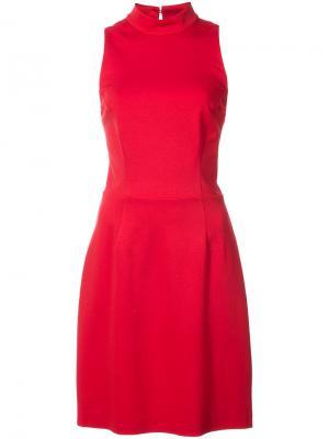 Облегающее платье без рукавов Trina Turk. Цвет: красный