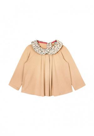 Блуза AnyKids. Цвет: бежевый