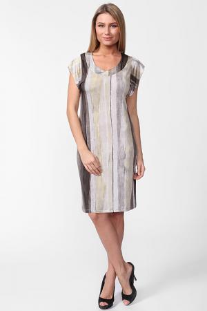 Платье Carla B. Цвет: серый