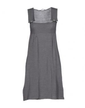 Короткое платье BELLWOOD. Цвет: серый