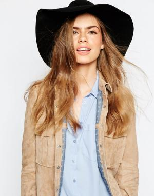 Christy's Шляпа с широкими полями Christys Kimberley. Цвет: черный