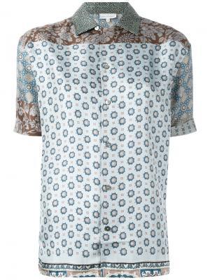Рубашка с узором свободного кроя Pierre-Louis Mascia. Цвет: многоцветный