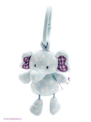 Игрушка мягкая (Stripes & Dots Evert Activity Toy, 13 см). Gund. Цвет: светло-голубой