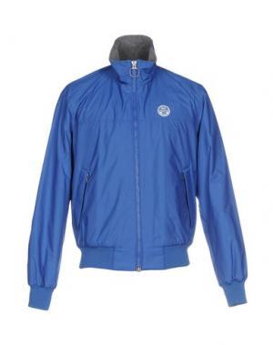Куртка NORTH SAILS. Цвет: синий