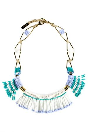 Ожерелье RADA. Цвет: синий