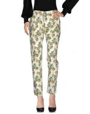 Повседневные брюки SO NICE. Цвет: слоновая кость