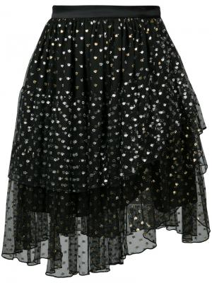 Tiered tulle skirt Rodarte. Цвет: чёрный