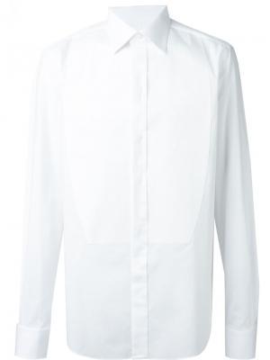 Классическая рубашка Brioni. Цвет: белый