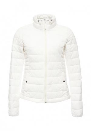 Куртка утепленная Piazza Italia. Цвет: белый