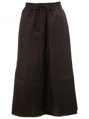 Укороченные брюки  Boxer Toogood. Цвет: чёрный