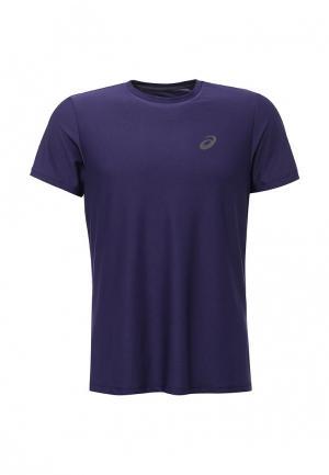Футболка спортивная ASICS. Цвет: фиолетовый
