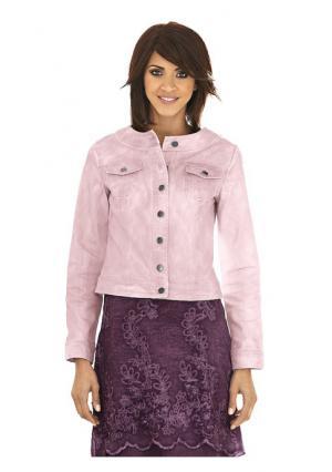 Куртка Linea Tesini. Цвет: розовый