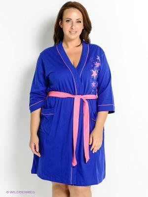 Комплект одежды Vienetta Secret. Цвет: синий, розовый