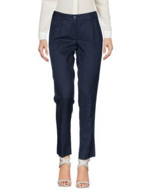 Повседневные брюки GOLD CASE. Цвет: темно-синий