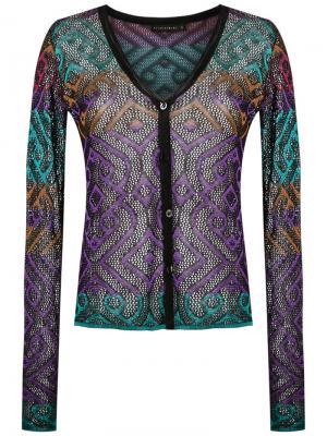Knit cardigan Cecilia Prado. Цвет: чёрный
