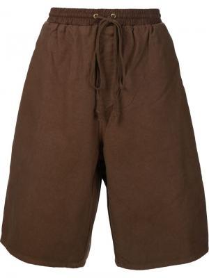 Классические шорты-бермуды 321. Цвет: коричневый