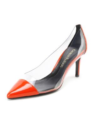 Туфли GIORGIO FABIANI. Цвет: оранжевый