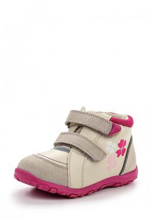 Ботинки Reima. Цвет: бежевый