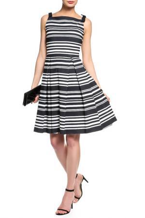 Платье CHIARA BONI. Цвет: черно-белый