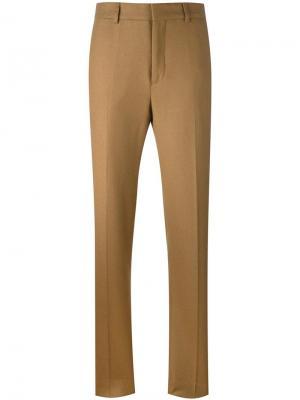 Прямые брюки Harmony Paris. Цвет: телесный