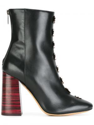 Ботинки по щиколотку Ellery. Цвет: чёрный