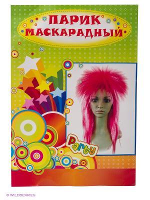 Маскарадный парик Magic Home. Цвет: белый