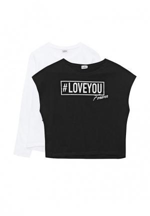 Комплект футболок 2 шт. Blukids. Цвет: разноцветный