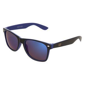 Очки  Sunglasses Black/Blue Nomad. Цвет: черный,синий