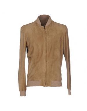 Куртка SALVATORE SANTORO. Цвет: бежевый