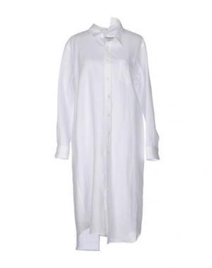 Платье до колена JUNYA WATANABE COMME DES GARÇONS. Цвет: белый