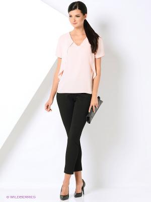 Блузка Love My Body. Цвет: бледно-розовый