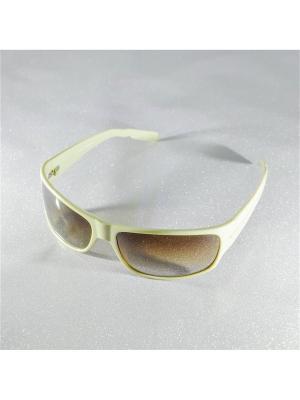 Солнцезащитные очки MACAR. Цвет: бежевый