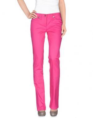 Повседневные брюки ROCCOBAROCCO. Цвет: фуксия