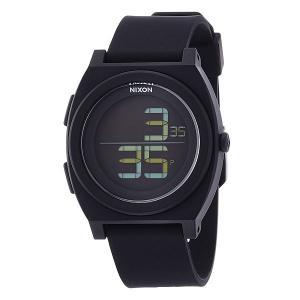 Часы  Time Teller Digi All Black Nixon. Цвет: черный