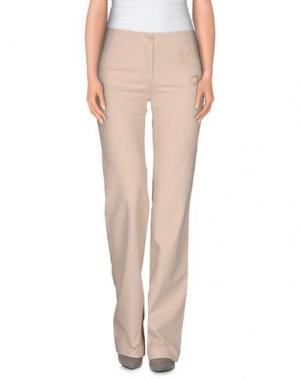 Повседневные брюки LAURA BIAGIOTTI. Цвет: бежевый