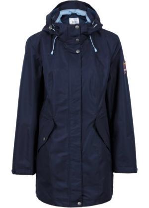 Функциональная куртка 3 в 1 (темно-синий/нежно-голубой) bonprix. Цвет: темно-синий/нежно-голубой
