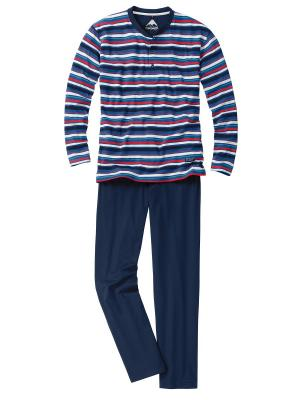 Пижама CECEBA. Цвет: синий