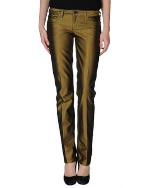 Джинсовые брюки SEVEN7. Цвет: хаки