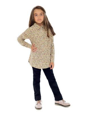 Рубашка Luce della Vita. Цвет: бежевый
